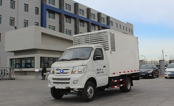 4.0T Electric Refrigerator Vehicle