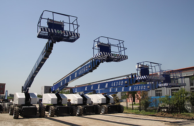 Straight Boom Mobile Elevating Work Platform