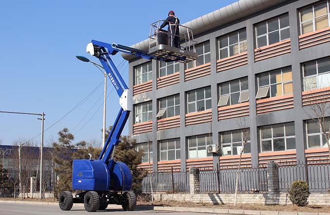 Articulating Boom Mobile Elevating Work Platform